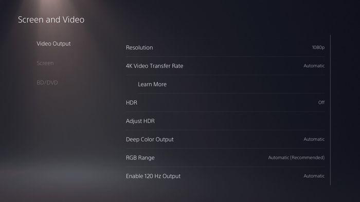 Warzone Season 4 120 FPS PS5 Settings