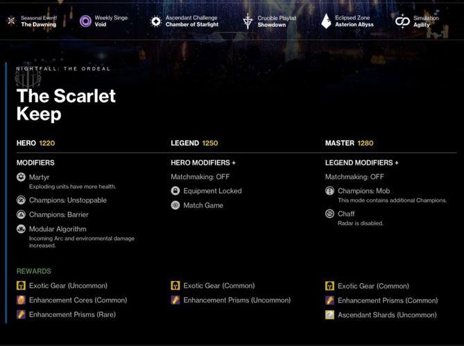 Destiny 2 reboot December 15, 1