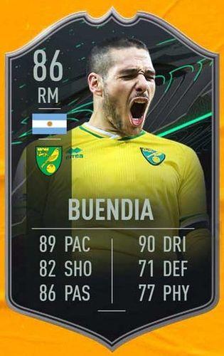 FIFA 21 Emiliano Buendia Card Image