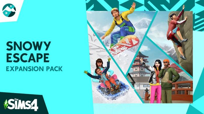 the sims 4 snowy escape expansion pack 1