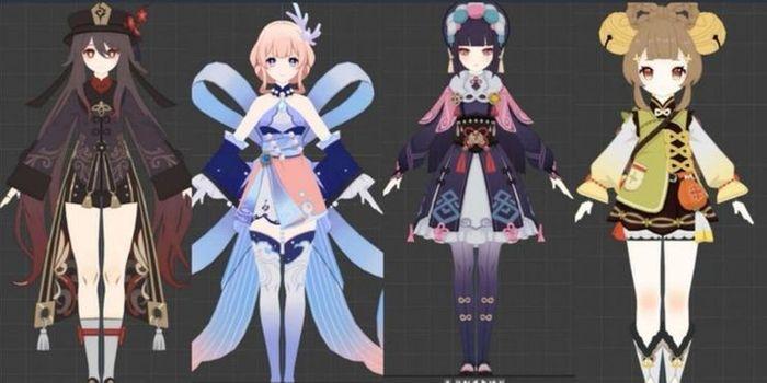 Genshin Impact leaked models