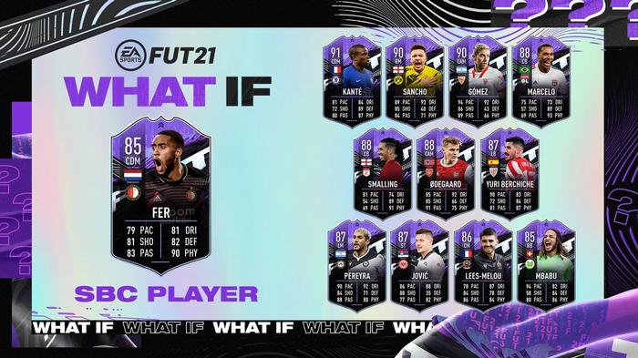 leroy fer fifa 21 ultimate team what if