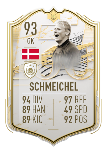 peter schmeichel fifa 21 ultimate team icon prime moments