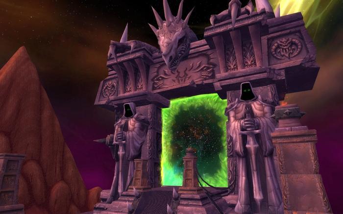 WoW Classic TBC Dark Portal Outland