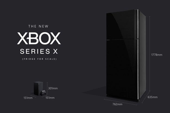 Xbox Series X Size Comparison