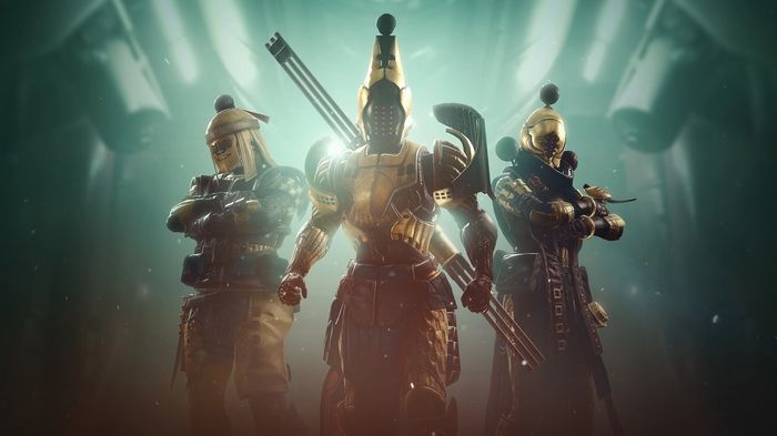 Destiny 2 Season of the Chosen three characters Hammer of Proving