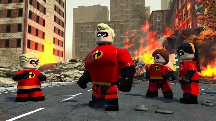 LEGO The Incredibles Nintendo Switch Key Art