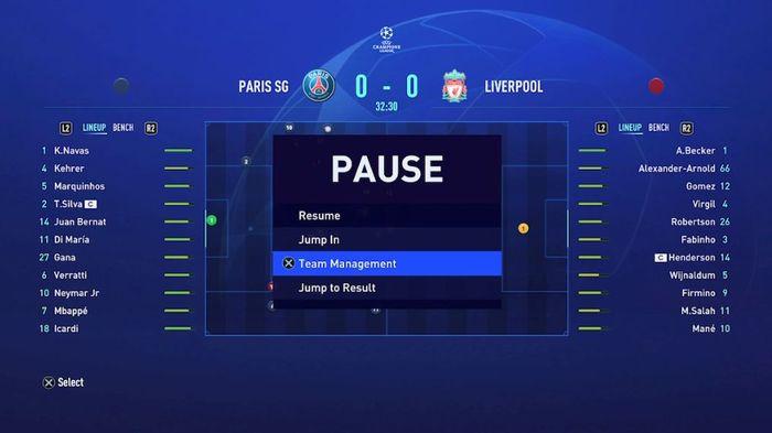 fifa 21 career mode match sim 1