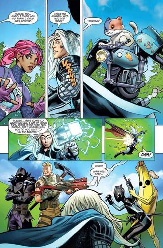 Thor Lands In 'Fortnite' In Season 4 Comic Book Teaser Part 2