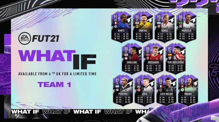 FIFA 21 What If Team 1 Ultimate Team