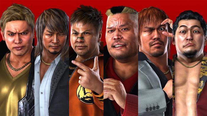 AEW Console Game NJPW Yakuza