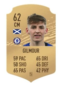 billy gilmour fifa 20