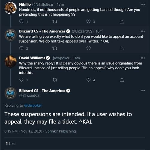 Blizzard responds to classic wow ban wave users