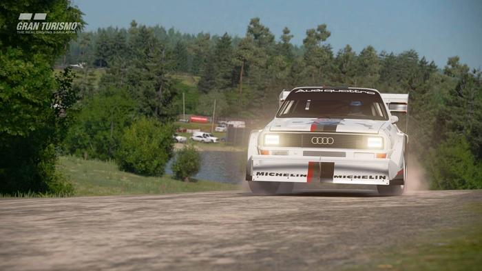 GETTING DIRTY: GT Sport even has rallying for offroad fans!