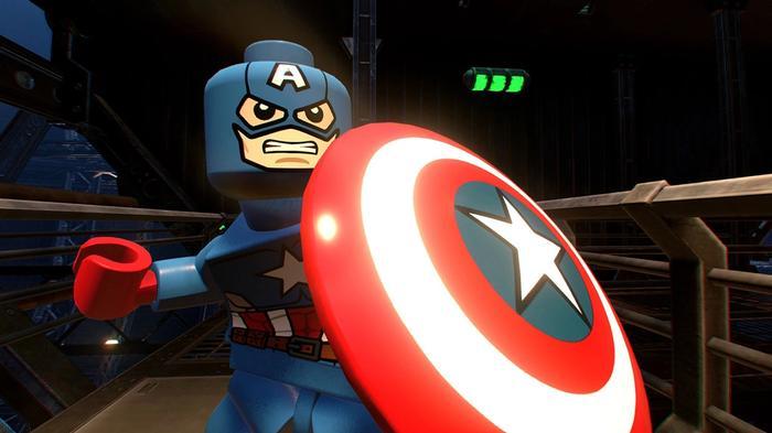 Lego Marvel Super Heroes 2 Nintendo Switch Captain America Key Art