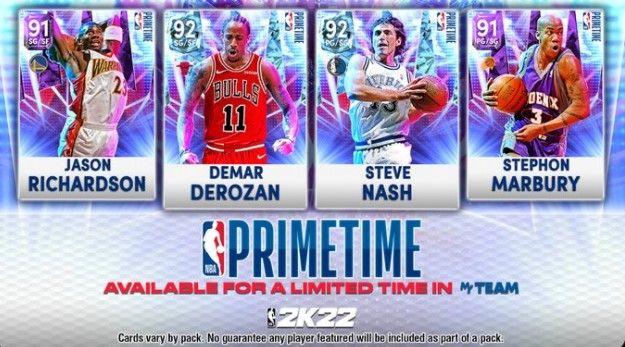 Primetime Pack in NBA 2K22