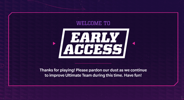 Madden 22 Ultimate TEam MUT 22 Early Access