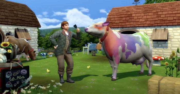 Cottage Living Cheats Coloured Animals