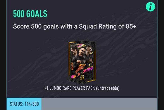 fifa 21 500 goals
