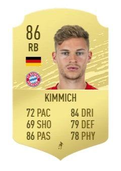 fifa 20 kimmich base card