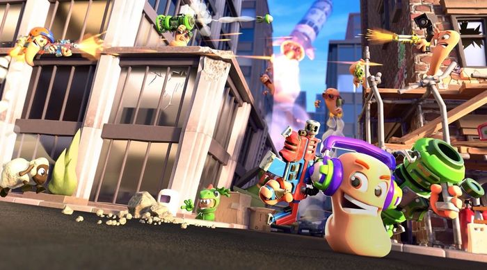 worms rumble ps plus 2
