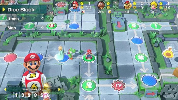 Super Mario Party Online Update Ruins