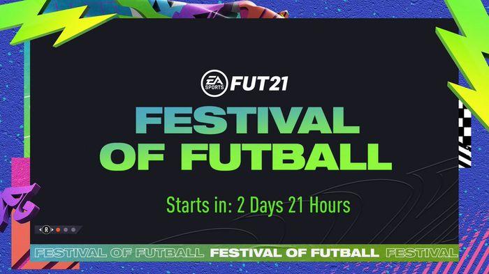 fifa 21 ultimate team loading screen festival of futball