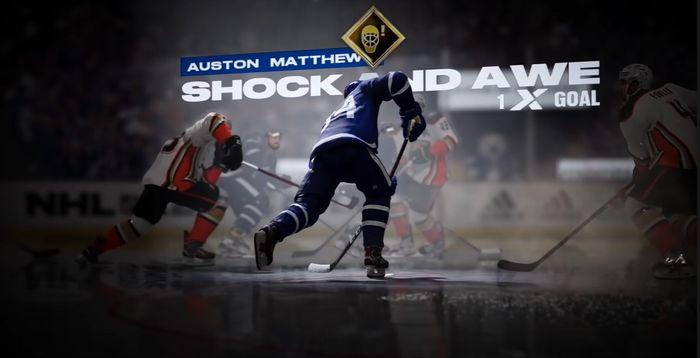 An image of Auston Matthews in NHL 22