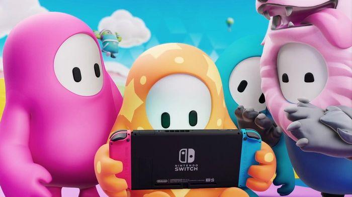 Fall Guys Nintendo Switch Reveal