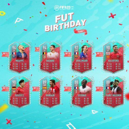 fifa 20 fut birthday fifa 20