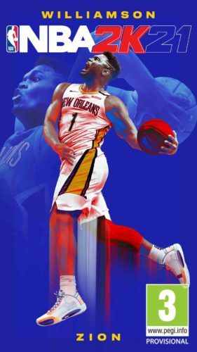 NBA 2K21 Cover Reveal Zion 1080x1920 PEGI EN