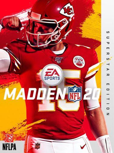 Madden NFL 20 cover 1