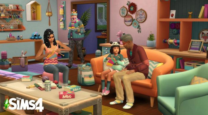 sims 4 nifty knitting review 1