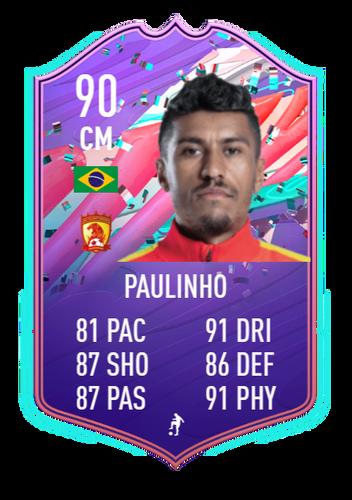 paulinho fifa 21 ultimate team fut birthday