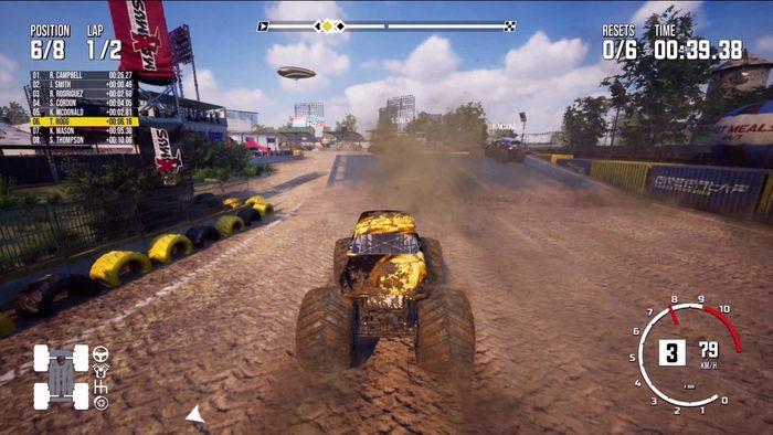 Monster truck Sim Race min1