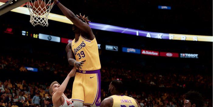 NBA 2K21 momentum contact next gen