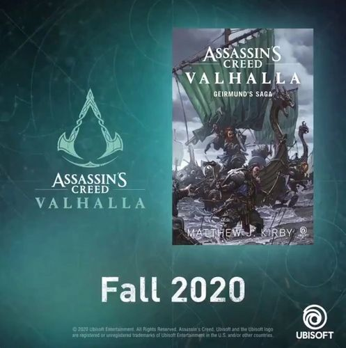 Geirmunds saga novel assassins creed valhalla story