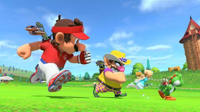 mario speed golf