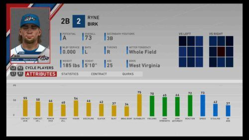 mlb the show 20 prospects birk
