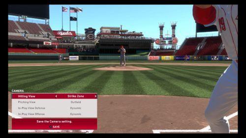 MLB The Show 20 strike zone camera