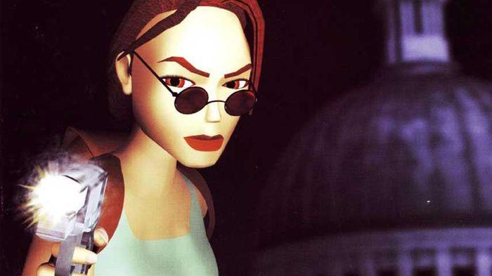 RETRO COOL: The original Lara sported cool shades and attitude