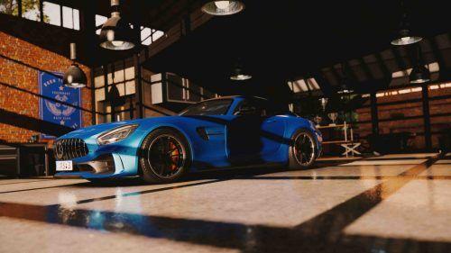 MercedesAMGGTR Garage 1