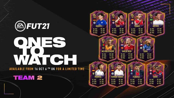 ones to watch 2 fifa 21 min