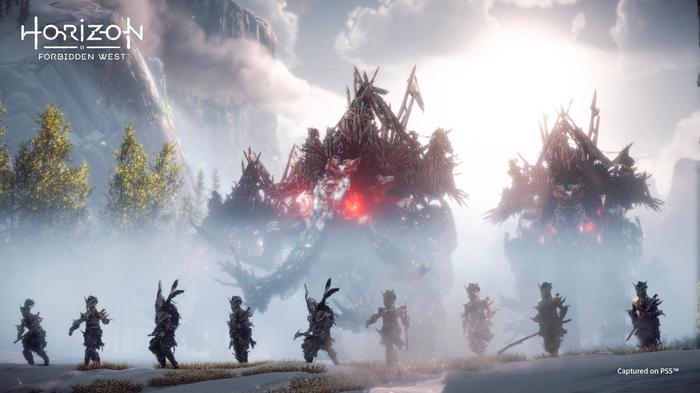 Horizon Forbidden West Release Date Evil Elephant Raiders