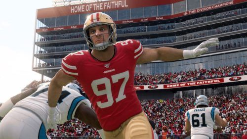madden 20 team of the week 8 players revealed including nick bosa hero card