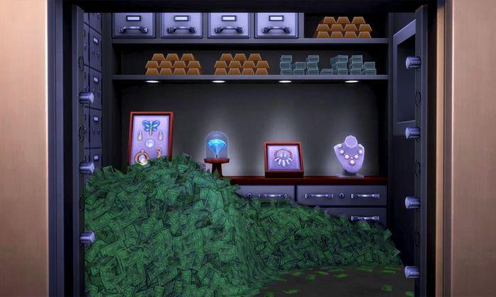 Money Vault Sims 4 1