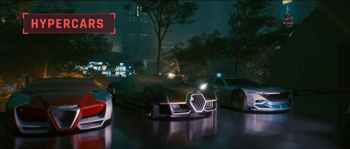 WHEELS! The vehicles in Cyberpunk 2077 alone are plenty to get hyped for