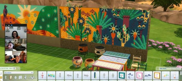 Sims 4 Hispanic Heritage Month Update