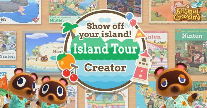 Animal Crossing Island Tour Creator Key Art