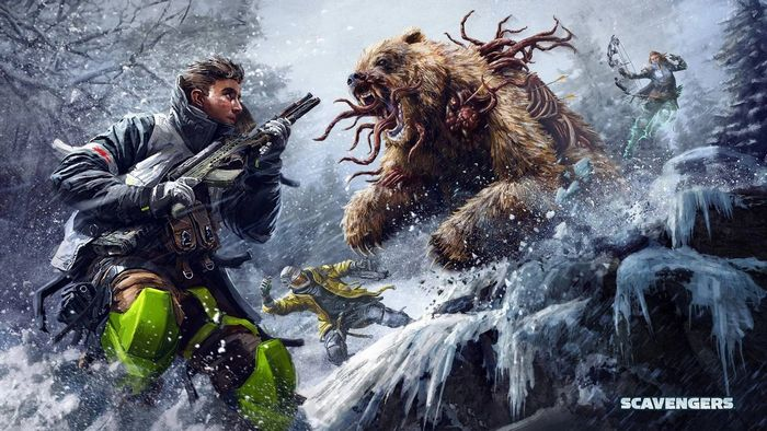 Scavengers Game Mutant Bear Key Art